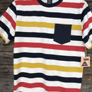 [POLER] CANDY STRIPE S/S KNIT