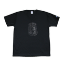 """GOTHAM CITY V-NECK TEE"" Black (DRI-FIT)"
