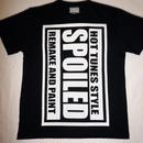 SPOILEDロゴTシャツ