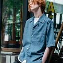 ケミカルウォッシュオープンカラーシャツ L-19