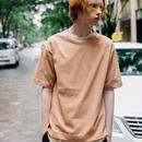 新疆綿甘撚りビッグTシャツ【ピンク】 L-05