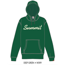 SUMMIT ロゴパーカー 18/19 (DEEP GREEN × IVORY)※受注販売、発送は11/19以降順次