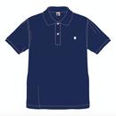 SUMMIT  ''雪山ロゴ'' 刺繍ポロシャツ NAVY