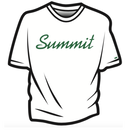 SUMMIT Label Logo T-shirts  WHITE × GREEN