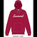 SUMMIT ロゴパーカー 18/19 (BURGUNDY × IVORY)※受注販売 、発送は11/19以降順次