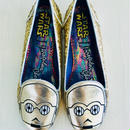 STAR WARS × Irregular Choice / FLAT SHOES [gold]