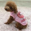 ドーナツ プリントシャツ ピンク