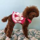 リボンワンピース ピンク