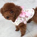 パピー用アニマルフリースシャツ ピンク