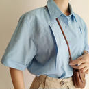 Euro Vintage Flat Collar Box Shirt