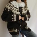 Euro Vintage Nordic Knit Cardigan