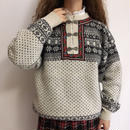 Euro Vintage Nordic Knit Sweater