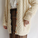 70's-80's Irish Cable Knit Cardigan