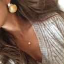 Gold Shell 2way Pierce