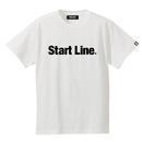 Start Line Standard T-shirt/スタンダードTシャツ(White/ホワイト)  ウィメンズ
