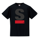Big S Active T-shirt(Black)