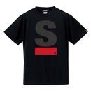 【M残り1点】Big S Active T-shirt/ビッグエスアクティブTシャツ(Black/ブラック)