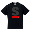 S Logo active T-shirt(Black)