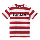 Start Line Standard T-shirt(Red)