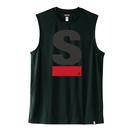 Big S Active No-sleeve/ビッグエスノースリ(Black/ブラック)