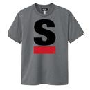 【残り2点】Big S Active T-shirt/ビッグエスアクティブTシャツ(Gray/グレー)  ウィメンズ限定カラー