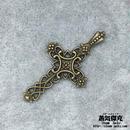 【2点セット】十字架 クロス  Cross 金属製 商品番号C-0031