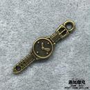 【4点セット】腕時計風素材 金属製パーツ 商品番号T-0037