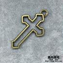 【2点セット】十字架 クロス  Cross 金属製 商品番号C-0027