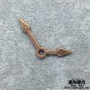【10点セット】時計針風素材 金属製パーツ 商品番号T-0040