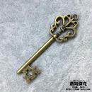 鍵風ペンダント素材 長さ5.7cm 金属製 商品番号K-0006