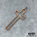 【4点セット】十字架 クロス  Cross 金属製 商品番号C-0026