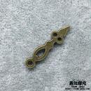 【5点セット】時計針風素材 金属製パーツ 商品番号T-0048