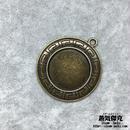 【5点セット】ペンダント素材 44mm x 39mm 金属製ハンドメイドパーツ 商品番号P-0038