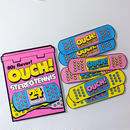 OUCH! sticker set <1case + 6bandade>