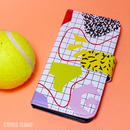 iPhone case book type<TENNIS COAT>