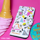 iPhone case book type<RADICAL FANCY>