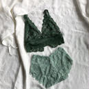 Green lace set