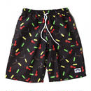 STONED PATTERN BEACH SHORTS <Made In Paradise>