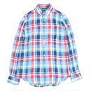 Polo Ralph Lauren Linen Plaid Shirt ポロ ラルフローレン リネン チェック シャツ