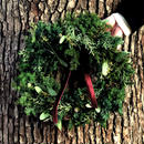 Christmas wreath(M)【 Chic & Harvest series 】