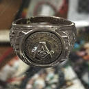Vintage US NAVY Masonic フリーメイソン シルバーリング 23.5号