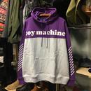 (トイマシーン)toy machine '19年春夏新作 TOYMACHINE LOGO SWEAT PARKA スウェット・パーカー (TMP19SW15-PUR)