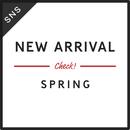 SNS素材|2サイズセット 春の新作 [B-02]
