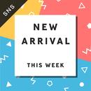 SNS素材|2サイズセット 今週の新作 [A-01]