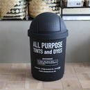 35L DUSTBIN -BLACK-