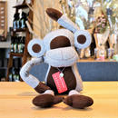 MONKEY DOOR STOPPER(L) -GRAY-