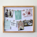 CLOTH LINE SHADOW BOX