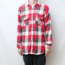 ビンテージ マチ付きネルシャツ Vintage Flannel Shirt
