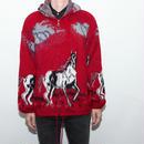Mohair Wool Zip Up Jacket