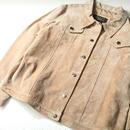 Pig  Leather Trucker  Jacket